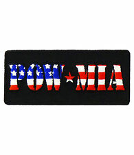 POW MIA American Flag Print Patch, Military Patches