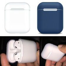 Nuevo Mini caja de almacenamiento de Protección de auriculares de silicona suave