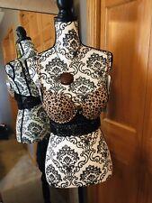 Daisy Fuentes Cheetah Push Up Lace Bra  34B