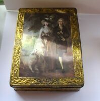 Kalar Tin Victorian Couple Box