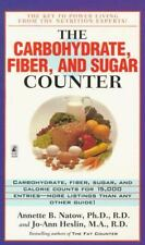 The Carbohydrate, Fiber, and Sugar Counter