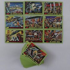 TOPPS MARS ATTACKS HERITAGE COMPLETE 'GREEN' PARALLEL CARD SET (2012)