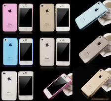 New Soft Slim 0.3mm TPU Clear Silicon Back Case Cover Skin For Apple iPhone 4 4s