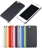 FOR IPHONE 6 4.7 Inch SOFT PLASTIC PC 0.3MM ULTRA THIN SLIM SKIN FIT CASE COVER
