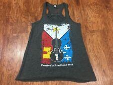 Festivals Acadiens  Women's Racerback Tank Top Lafayette Louisiana Shirt Size XS