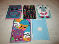 EUC LOT IPAD MINI 1 2 3 TABLET NOTEBOOK CASE COVER PROTECTOR PADDED HARD SOFT
