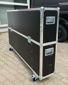 Flight Case Profi  Hauben Case für 75 Zoll Fernseher / Monitor