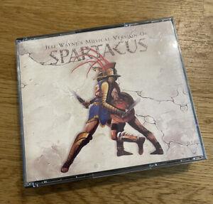 Jeff Wayne Musical Spartacus - Double CD Rare