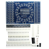SMT SMD Component Weld Welding Practice PCB Board Solder Plate DIY Kits new