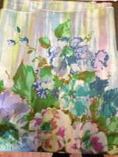 """Green Floral Pattern Fabric!!  42"""" WIde X 54"""" Long!! FREE SHIPPING!!"""