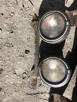 Landrover RANGE ROVER P38 Front Bull Bar Spot Lights  Rough Parts 1994-2002 👍
