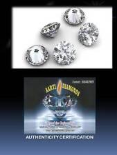 Lotto 5 diamanti taglio brillante 0,10 ct CERTIFICATO