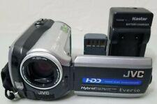 JVC GZ-MG157 30 GB HDD Hard Disk Digital Camcorder - Silver *GOOD/TESTED*