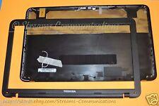 TOSHIBA Satellite C855 C855D Laptop Backcover /Rear LiD +LCD Bezel Wi-Fi Antenna