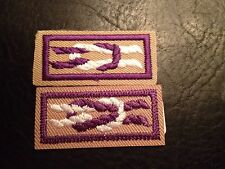 BSA Mistake Colors Are Reversed Set Of International Award Knot Collectors Item