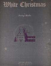 White Christmas Vintage Sheet Music Irving Berlin 1942