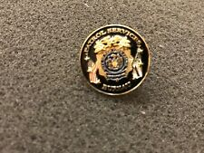 NYPD BLACK CHIEF OF PATROL PIN NON CHALLENGE COIN
