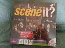 Mattel Scene It The Twilight Saga DVD Game NEW NEVER OPEN