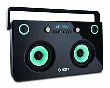 ION Audio Spectraboom Portable Bluetooth Speaker Boombox - Free P&P IRE &UK!