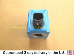 JCB BACKHOE- VICKERS 12V 30W SOLENOID COIL ROUND PIN (PART# 477/00824 02/124661)