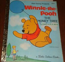 A LITTLE GOLDEN BOOK - DISNEY PRESENTS WINNIE THE POOH THE HONEY TREE -E 101-3