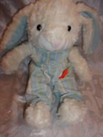 "Goffa Int Soft Bunny Rabbit 15"" Plush Soft Toy Stuffed Animal"