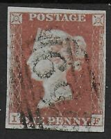 SG8.  1d.Red-Brown.  Very Fine Used With 4 Narrow To Large Margins.   Ref.09120