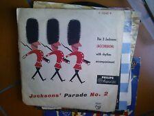"LP 10"" 25 CM THE 3 JACKSONS (ACCORDION) WITH RHYTHM ACCOMOPANIMENT J. PARADE N.2"