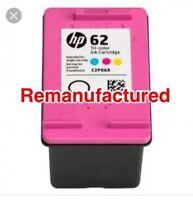 1x REM HP62 Colour ink cartridge For HP Envy5540, 5640, 7640