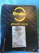 Brake Engineering, Brake Pad Set, PA1110, Ford Galaxy, VW Sharan