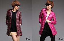 NEW Women's Ultralight Long 90% Down Hooded Jacket Puffer Parka Coat UNIQLO'S