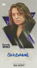 "Doctor Who Tenth Widevision - Claire Rushbrook ""Ida Scott"" Autograph Card"