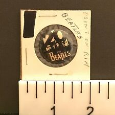 Beatles, 20 Years Celebration (1980s) Vintage Capitol Records Pin-Back Button
