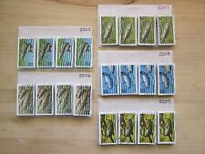 Full Set Fish Issues # 2205 - 2209 x 100 Used US Stamps of Each