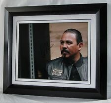 A692ER EMILIO RIVERA SIGNED MARCUS SONS OF ANARCHY SIGNED FRAMED AUTHENTIC