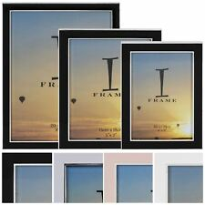 iFrame Silverplated Frame With Epoxy Colour Insert 4x6 5x7 8x10
