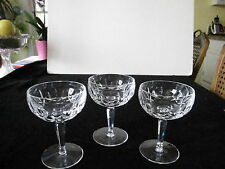 "BEAUTIFUL WATERFORD VINTAGE ""KILDARE"", CHAMPAGNE/SHERBETS, 5 1/4""H, PRICE IS EA"