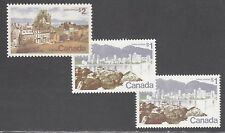 CANADA STAMPS #599, 599a, 601 --- (3) HI VALUE VARIETIES --  MINT