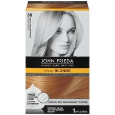 JOHN FRIEDA Precision Foam Color 8N Sheer Blonde, Permanent. New. Free Shipping