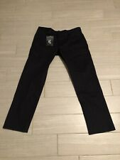 Men Nike Sb Skateboarding Ftm Chino Pants Black 933233 010 Size 38 Nwt $75