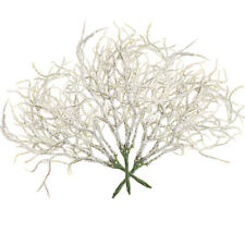 Artificial Snow Pine Branch Decor Christmas Simulation Flowers Plant Decor~