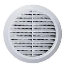 L/üftungsgitter /Ø 60 mm rund wei/ß Insektennetz Abluftgitter Zuluft Abluft Gitter L/üftung T74