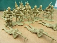 21- JAPANISE WW2 Infantry Soldiers 7-Different including officer
