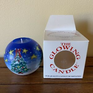 The Glowing Candle by Lava Enterprises, Christmas Tree Design, Made In USA, NIB