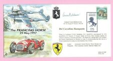 JS(CC)25 - ITALY 1997 FLOWN & Signed COVER - FERRARI Prancing Horse - Shs ROME