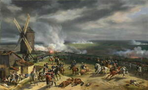 Horace Vernet The Battle of Valmy Giclee Art Paper Print Poster Reproduction