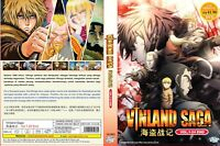 Vinland Saga (Chapter 1 - 24 End) ~ 2-DVD SET ~ English Subtitle ~ Region 0 ~