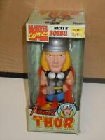 "Avengers The Mighty Thor Wacky Wobbler Bobble Head Toy Figure by Funko 6"" (2008)"