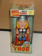 """Avengers The Mighty Thor Wacky Wobbler Bobble Head Toy Figure by Funko 6"""" (2008)"""
