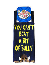 Bullseye TV Dart Show Official SOCKS You Can't Beat A Bit of Bully
